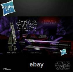 Star Wars Black Series Darth Revan Force Fx Elite Sabre Laser Avec Couverture Personnalisée