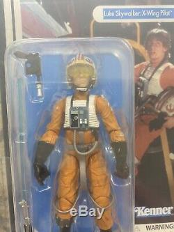 Star Wars Black Series Luke Skywalker X-wing Pilot 40e Anniversaire Afa Archives