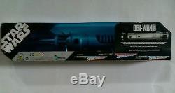 Star Wars Clone Wars Obi-wan Kenobi Force Action Sabre Laser 2006 Rare