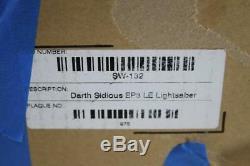 Star Wars Dark Sidious Ep3 Répliques De Sabres Laser Master Edition Limited 11