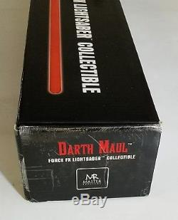 Star Wars Darth Maul Sabre Laser À Collectionner Sw-213 Force Fx Master Replicas, Mib