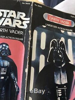 Star Wars Darth Vader De Kenner 1977 15 Figurine Articulée, Boîtier De Lumière, Sabre