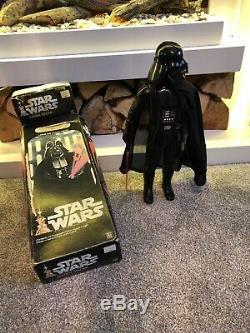 Star Wars Darth Vader De Kenner 1977 15 Figurine Articulée, Boîtier Feu Central