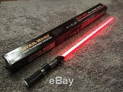 Star Wars Darth Vader Lightsaber Fx Master Replicas Collection Anh 2003 (rare)