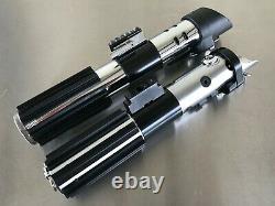 Star Wars Darth Vader Rotj Mpp V6 Graflex Skywalker Sabre Laser Hilt Prop Ensemble