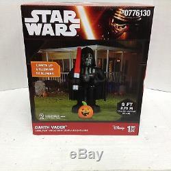 Star Wars Darth Vader Sabre Laser Citrouille Halloween Prop Gonflable Taille Réelle