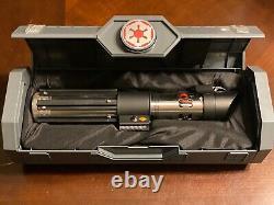 Star Wars Disney Galaxy's Edge Dark Vador Legacy Sabre Laser Hilt And Blade