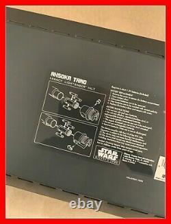 Star Wars Disney Galaxys Edge Ahsoka Tano Legacy Lightsaber Hilt Limited Nouveau