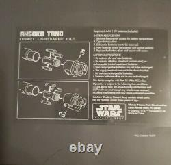 Star Wars Disney Galaxys Edge Ahsoka Tano Legacy Lightsaber Hilts Disneyland Nouveau