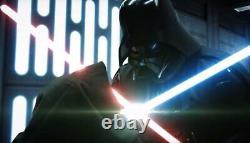 Star Wars Disney Galaxys Edge Darth Vader Legacy Lightsaber Hilt Scelled Dok