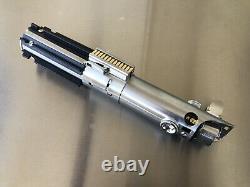 Star Wars Esb Skywalker Graflex Replica Hélice De Sabre Laser Avec Affichage En Métal