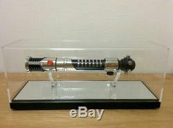 Star Wars - Étui Transparent Obi-wan Kenobi Ep1 Light Saber Édition Elite - Nouveau B78