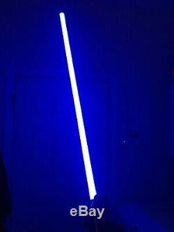 Star Wars Force Fx Lightsaber Luke Skywalker Bleu Réplique Maîtresse Sw-220 2007