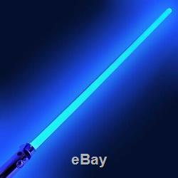 Star Wars Force Fx Maître Anakin Skywalker Répliques Hasbro 2007 Bleu Lightsaber
