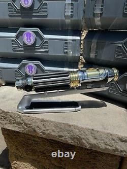 Star Wars Galaxy's Edge Mace Windu Legacy Lightsaber Hilt Aucune Blade Couleur Violette