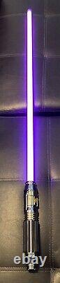 Star Wars Galaxy's Edge Mace Windu Legacy Sabre Laser Hilt & Blade
