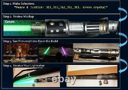 Star Wars Galaxy's Edge Sabre Laser Personnalisé Vous Choisissez Savi's Workshop Disney