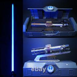 Star Wars Galaxys Edge Reforged Rey Skywalker Legacy Lightsaber Hilt & Blade