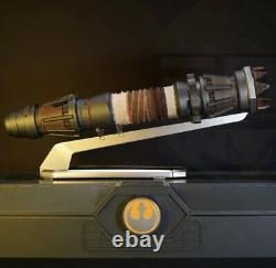 Star Wars Galaxys Edge Rey Skywalker Yellow Legacy Lightsaber Hilt Pas De Lame