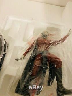 Star Wars Gentle Giant Darth Malak Statue Limitée Manquante Rouge Lightsaber