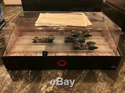 Star Wars Hot Wheels Sdcc Exclusif Darth Vader Car Sabre Léger Et Trench Run