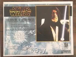 Star Wars Icons Réplique Obi-wan Kenobi Sabre Laser Prop Prop Afbb Comme Premier Construit A +
