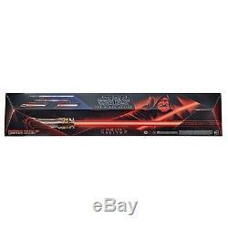 Star Wars L'empereur Noir Série Palpatine Force Fx Lightsaber Elite Pre Sale