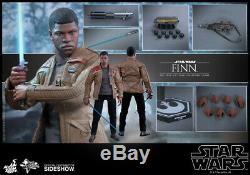 Star Wars La Force Awakens Finn Échelle 1/6 Hot Toys 12 Figure Mms345