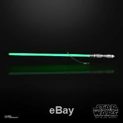 Star Wars La Force Fx Lightsaber Black Series Kit Fisto Pour Juin 2020 Précommande