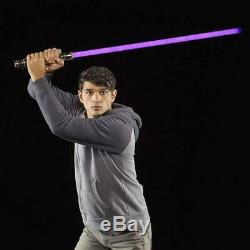 Star Wars La Série Black Laser Force Fx Lightsaber 1/1 Mace Windu 08