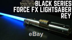 Star Wars La Série Noire Rey (jedi Training) Force Fx Lightsaber