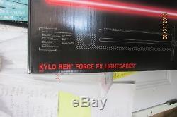 Star Wars La Série Noire Sabre Laser Kylo Ren Force Fx