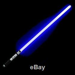 Star Wars Lightsaber Cosplay Luke Skywalker Jedi Rvb Laser Force Fx Heavy Metal