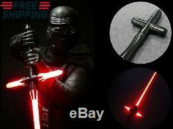 Star Wars Lightsaber Croix Lourde Épée Fx Dueling Force De Poignée En Métal Jedi Cos