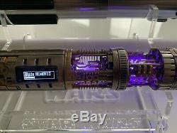 Star Wars Lightsaber Graflex Lichtschwert Maître Metall Bluetooth
