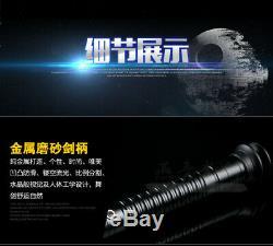 Star Wars Lightsaber Métal Combat Dueling Sabre Laser Kylo Ren Croix Durable Rouge