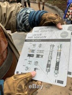 Star Wars Lightsaber Personnalisée Galaxys Bord Savis Atelier