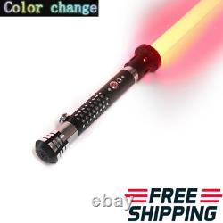 Star Wars Lightsaber Replica Force Fx Heavy Dueling Poignée Métallique Rechargeable