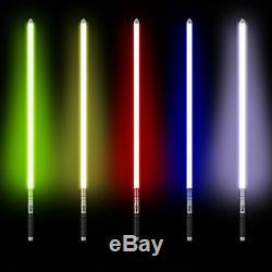 Star Wars Lightsaber Réplique Force Fx Lourde Dueling Rechargeable Poignée En Métal