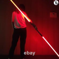 Star Wars Lightsaber Ydd Replica Force Fx Rvb Lourd Dueling Poignée En Métal (2 Set)