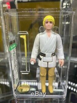 Star Wars Luke Skywalker Double Telescoping (dt) Lightsaber Afa 90 Nm + / Mt