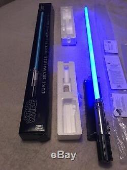Star Wars Luke Skywalker Réplique Maître Sabre Laser Force Fx Collection Anh 2007