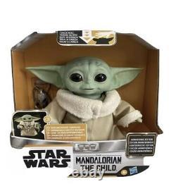 Star Wars Mandalorian The Child Baby Yoda Animatronic Jouet Disney Hasbro En Main