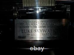 Star Wars Master Répliques Luke Skywalker Sabre Laser Sw-110 Ap