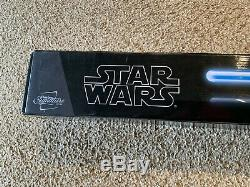 Star Wars Obi Wan Kenobi Fx Lightsaber Amovible Lame Signature Hasbro