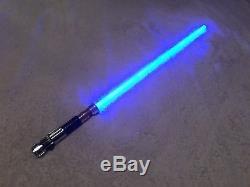 Star Wars Obi Wan Kenobi Réplique Maîtresse Force Fx Au Sabre Laser À Collectionner 2006 Ep3