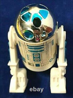 Star Wars Potf R2d2 Pop Up Lightsaber 1984 Last 17 Vintage Kenner 100% Original