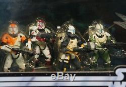 Star Wars Republic Commando Delta Squad Rc Clone Patron Fixateur Sev Scorch Sun Far