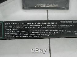 Star Wars - Sabre Laser Hasbro (vert) De La Série Signature Fx De Star Wars - Nouvellement Testé