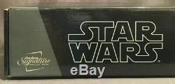 Star Wars Signature Series Darth Vader Fx Light Saber Avec Lame Amovible Nib